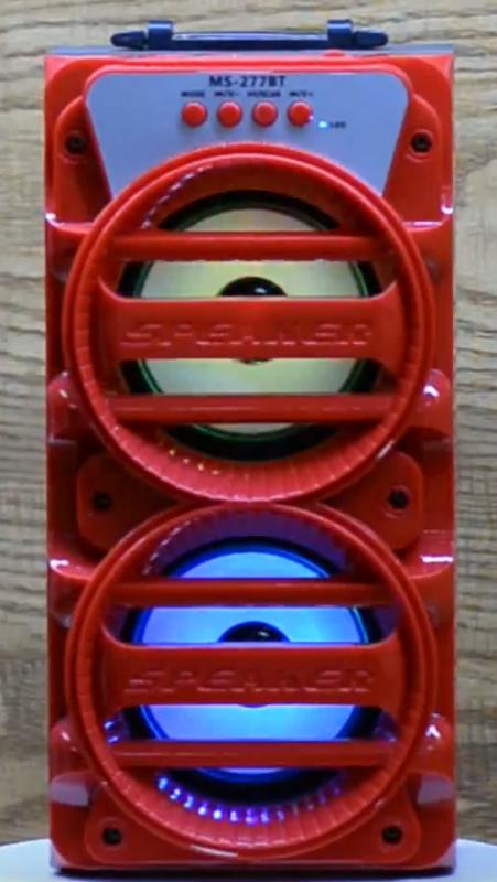 MS-277BT-Bluetooth-hordozhato-zenedoboz kép