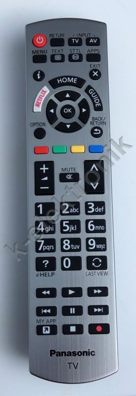 84e8f5165312 Panasonic-N2QAYB001178-GYARI kép. Eredeti távirányító!