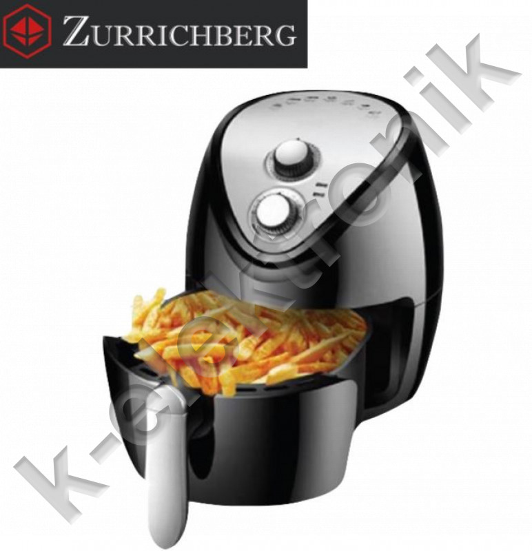 Zurrichberg-ZBP7616-Olaj-nelkuli-Fritoz kép